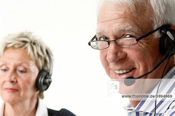 Portrait  lächeln  Kunde  Dienstleistungssektor