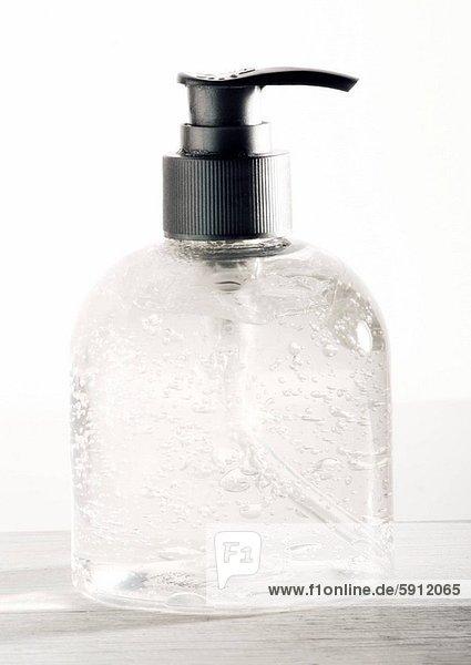Close_up of a soap dispenser. Close_up of a soap dispenser