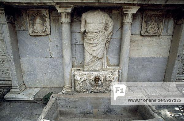 High angle view of a statue  Crete  Greece