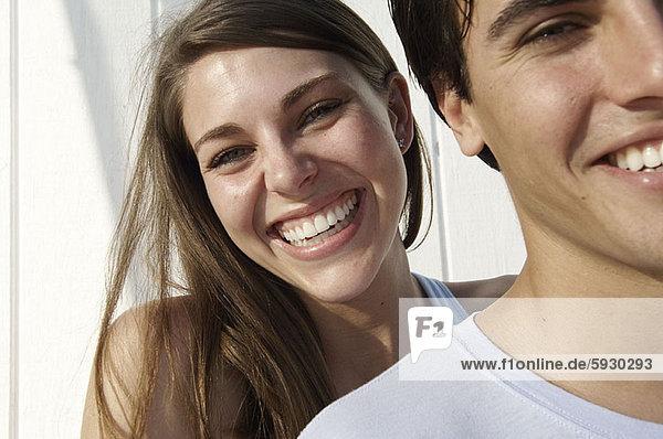 Portrait  lächeln  jung