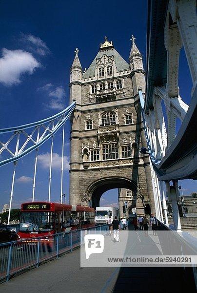 London  Hauptstadt  England  Tower Bridge