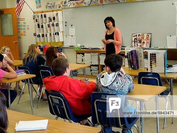6th Grade Class  Wellsville  New York  USA