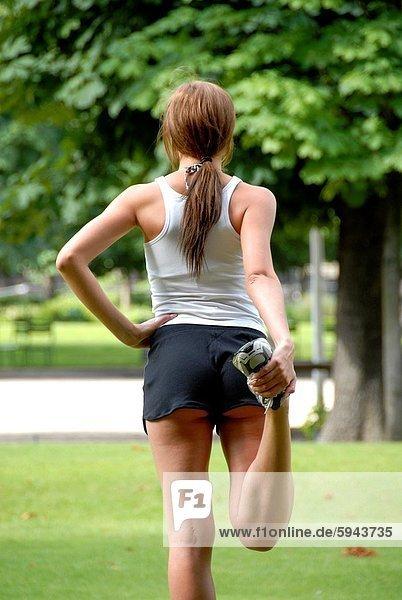 strecken  Läufer  20  alt