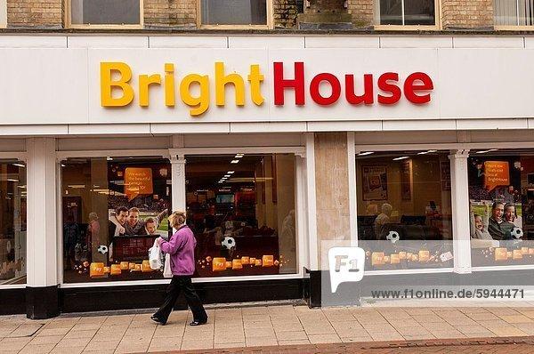 Helligkeit Wohnhaus britisch Großbritannien Laden England Suffolk