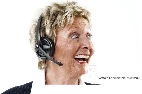 sehen  lachen  Close-up  close-ups  close up  close ups  Kunde  Dienstleistungssektor  Seitenansicht