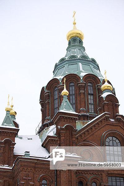 Mariä-Entschlafens-Kathedrale  Helsinki  Finnland  Skandinavien  Europa