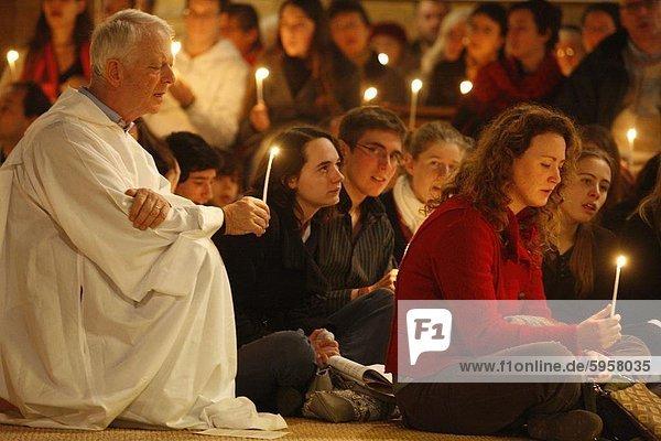 Taize Gemeinschaft Gebet  Montrouge  Hauts-de-Seine  Frankreich  Europa