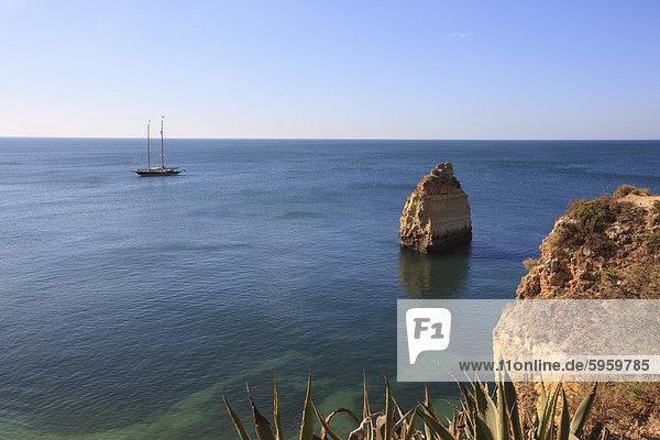 Praia da Marinha  Algarve  Portugal  Europa