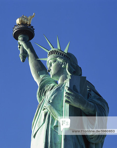 The Statue of Liberty  New York City  New York  United States of America  North America