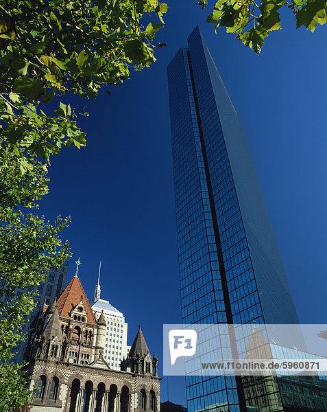 John Hancock Tower  Boston  Massachussetts  United States of America  North America