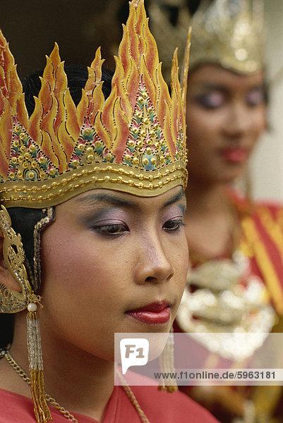 Ramayana Tänzer  Java  Indonesien  Südostasien  Asien