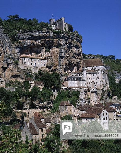 Rocamadour  Midi-Pyrenees  Frankreich  Europa