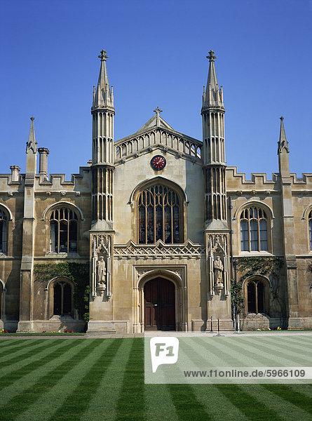 Corpus Christi College  Cambridge  Cambridgeshire  England  Vereinigtes Königreich  Europa