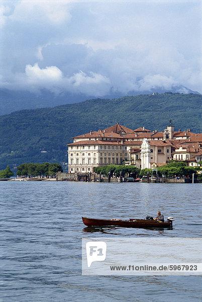 Isola Bella  Lago Maggiore  Piemonte  Italien  Europa