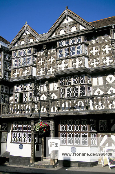 Europa Großbritannien England Ludlow Shropshire