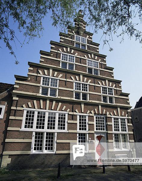 Galgewater  Stadstimmerwerf  alte Stadt  Leiden  Holland  Europa