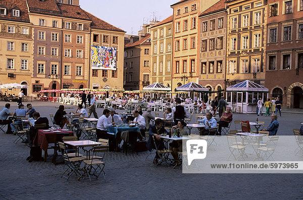 Altstädter Ring  Warschau  Polen  Europa