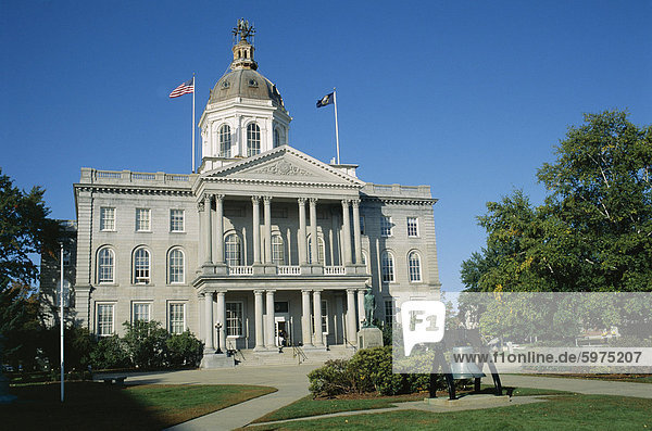New Hampshire State Capitol  Concord  New Hampshire  New England  Vereinigte Staaten (USA)  Nordamerika