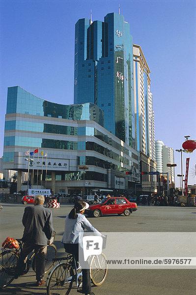 Moderne Gebäude  Kunming  Provinz Yunnan  China