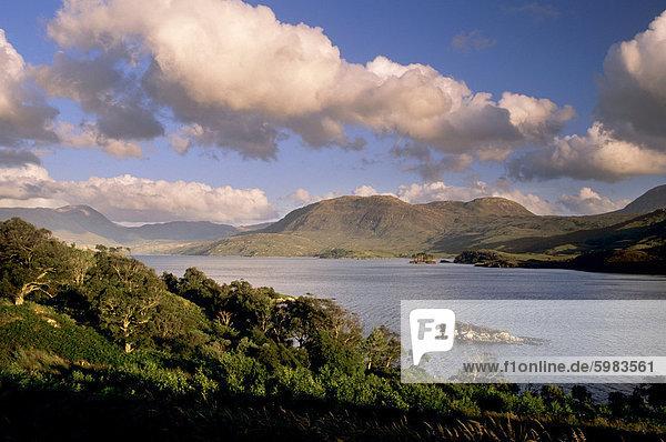 Loch Assynt  Sutherland  Hochlandregion  Schottland  Vereinigtes Königreich  Europa