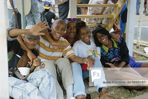 Stahl-Band Festival  Point Fortin  Trinidad  Westindien  Caribbean  Mittelamerika