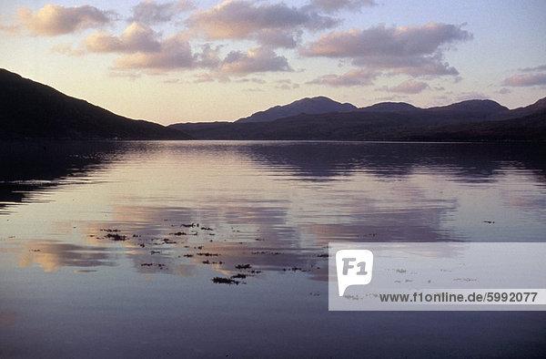 Insel Harris  westlichen Inseln  Schottland  Vereinigtes Königreich  Europa