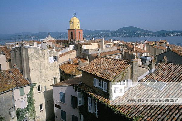 The old town  Presqu'ile de St. Tropez  Var  Cote d'Azur  Provence  France  Mediterranean  Europe