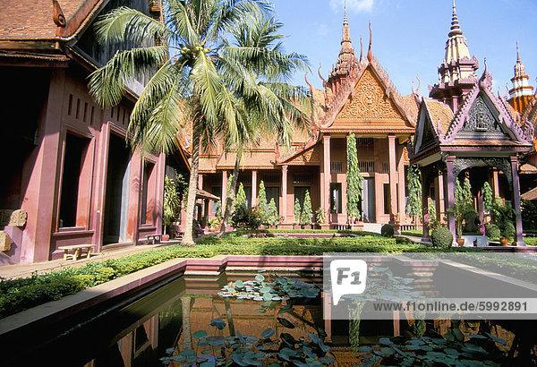 Phnom Penh Hauptstadt Südostasien Vietnam Asien Kambodscha