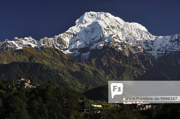 Gandaki  Annapurna Conservation Area  westliche Region  Nepal  Asien
