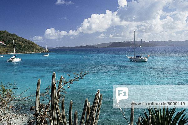 White Bay  Jost Van Dyke Island  britische Jungferninseln  Karibik  Mittelamerika