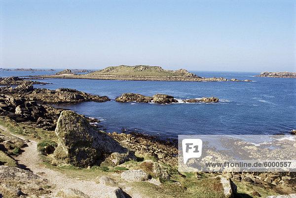 Bryher  Insel der Scilly-Inseln  Großbritannien  Europa