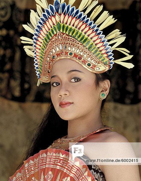 Legong Tänzer  die Legong Tanz soll durch den König von Sukawati  Bali  Indonesien  Südostasien  Asien & # 10 erstellt wurden