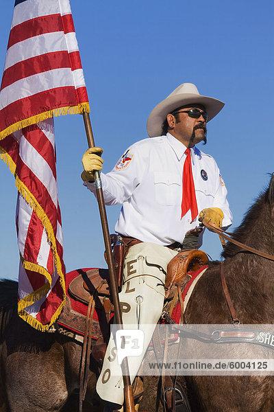 El Paso Sheriff's Posse  Tucson Rodeo Parade  Tucson  Arizona  United States of America  North America