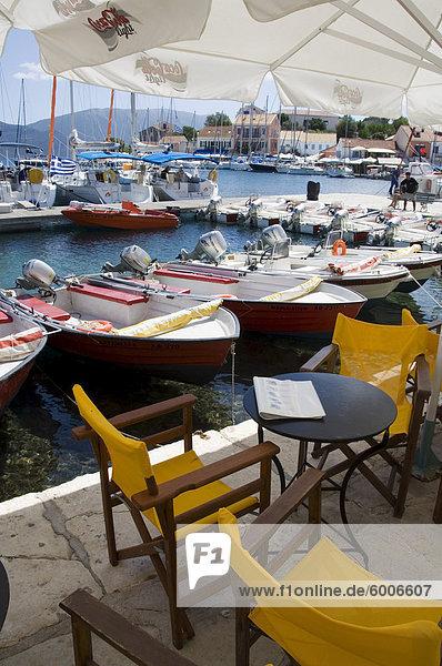 Fiskardo  Kefalonia (Cephalonia)  Ionische Inseln  Griechenland  Europa