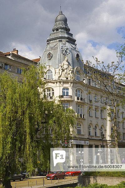 Tsar Osvoboditel Street  Sofia  Bulgarien  Europa