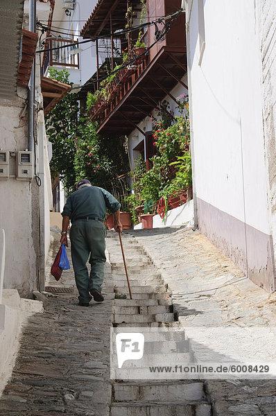 Hill Stadt von Glossa  Skopelos  Sporades Inseln  griechische Inseln  Griechenland  Europa