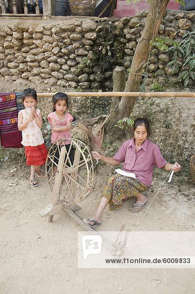 Dorf, Zimmer, Südostasien, Vietnam, Asien, Laos
