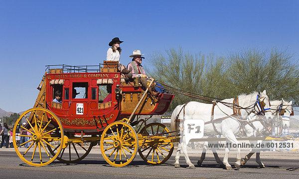 Tucson Rodeo Parade  Tucson  Arizona  Vereinigte Staaten von Amerika  Nordamerika
