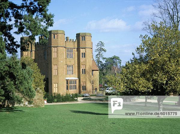 Leicester Torhaus  Kenilworth Castle  verwaltet von English Heritage  Warwickshire  England  Vereinigtes Königreich  Europa
