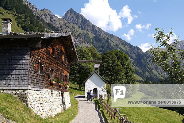 nahe Europa Berg Allgäu Bayern Deutschland Höfats Oberstdorf