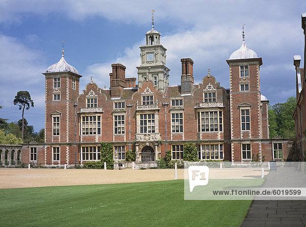 Blickling Hall  Aylsham  Norfolk  England  Vereinigtes Königreich  Europa