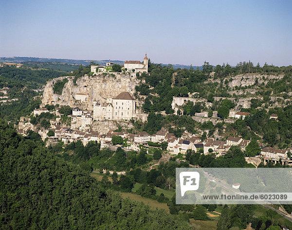 Rocamadour  Dordogne  Midi-Pyrenees  Frankreich  Europa