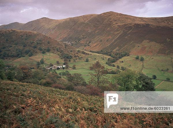 Troutbeck  in der Nähe von Windermere  Lake District-Nationalpark  Cumbria  England  Vereinigtes Königreich  Europa