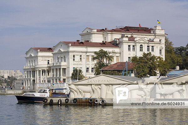 Hafen  Sewastopol  Krim  Ukraine  Europa