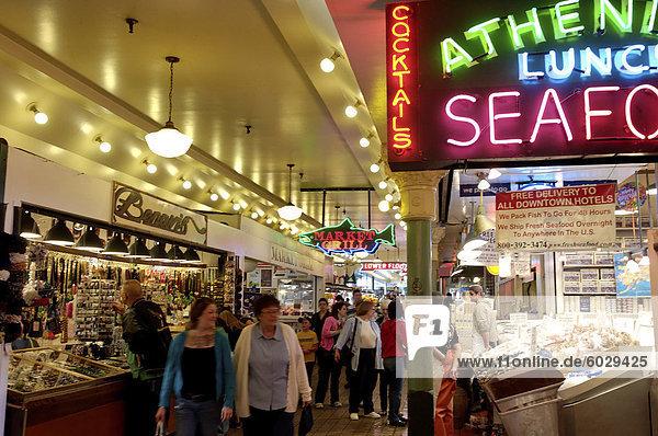 Hecht  Markt  Seattle  Bundesstaat Washington  Vereinigte Staaten von Amerika  Nordamerika