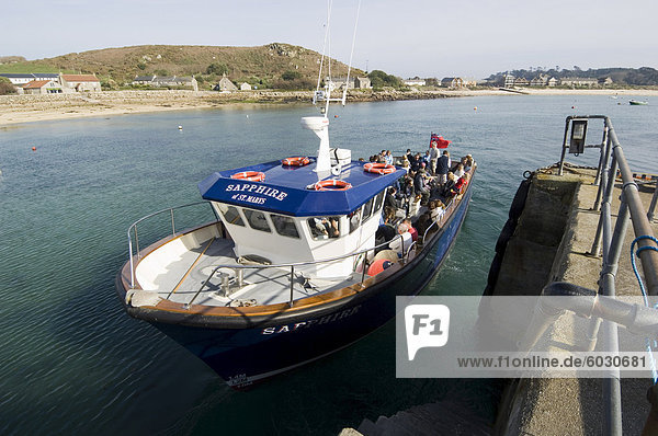 Tresco  Isles of Scilly  aus Cornwall  Vereinigtes Königreich  Europa