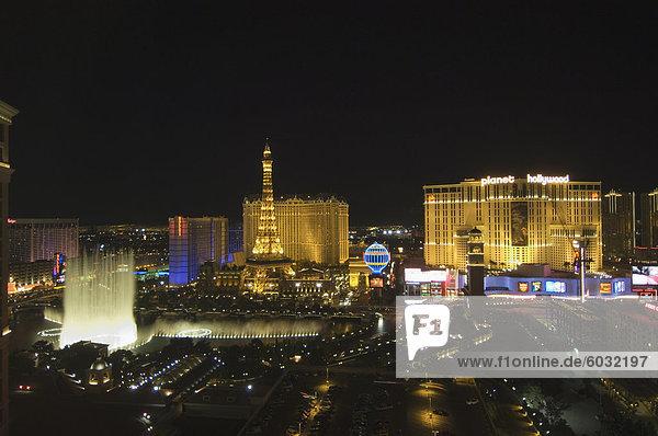 Paris Hotel on The Strip (Las Vegas Boulevard)  Las Vegas  Nevada  United States of America  North America