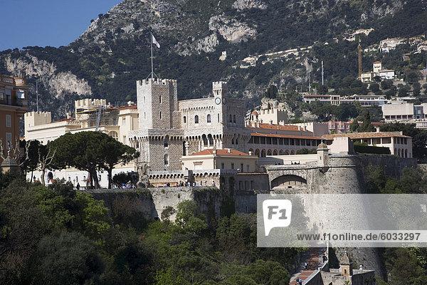 Das Royal Palace  Monaco  Cote d ' Azur  Europa