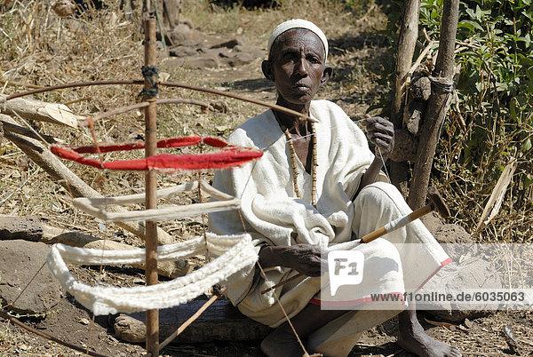 Dorf Weber  Äthiopien  Afrika