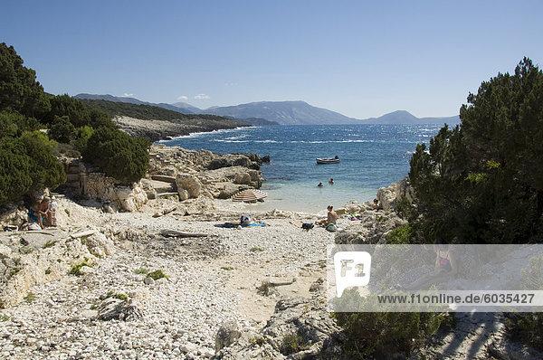 Europa Griechenland Ionische Inseln
